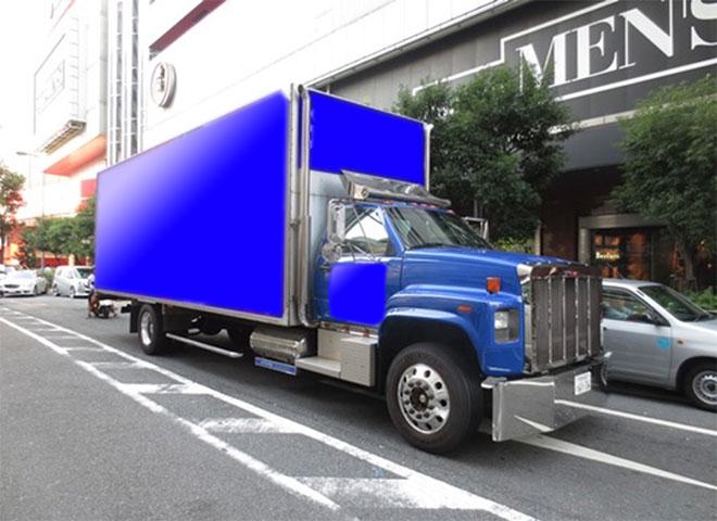 関西企画 車両広告アメリカントラック1号車