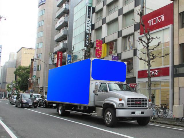 関西企画 車両広告アメリカントラック2号車
