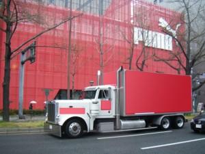 関西企画 車両広告アメリカントラック5号車