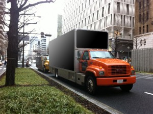 関西企画 車両広告アメリカントラック6号車