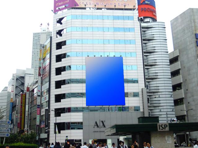 東京池袋 伊藤ビル壁面広告画像