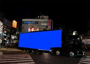 関西企画 車体広告 大型LEDビジョンアドトラック