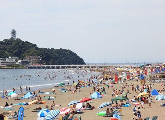 片瀬江ノ島東浜海岸SummerAdvertisingPlan