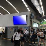 京都駅西口改札デジタルサイネージ2