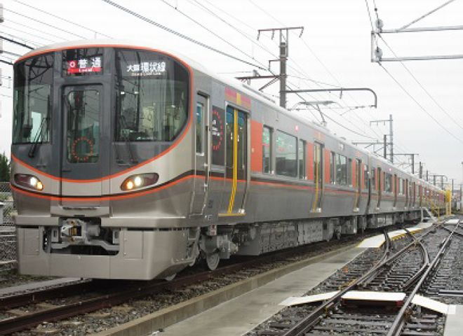 JR西日本ADトレイン環状線323系 2017年度上期