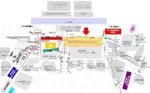大阪駅前地下道 中央通路エリア