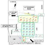 大阪駅前地下道 東広場ビックコラム位置