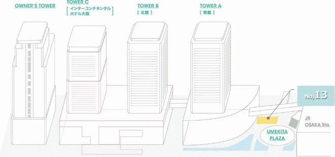 広場B1Fデジタルサイネージ_配置図
