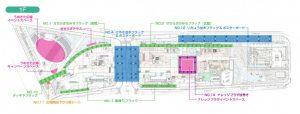 グランフロント大阪MAP1F