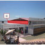 海の家「かもめ&ボサノバ」広告掲出位置3