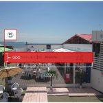 海の家「かもめ&ボサノバ」広告掲出位置4