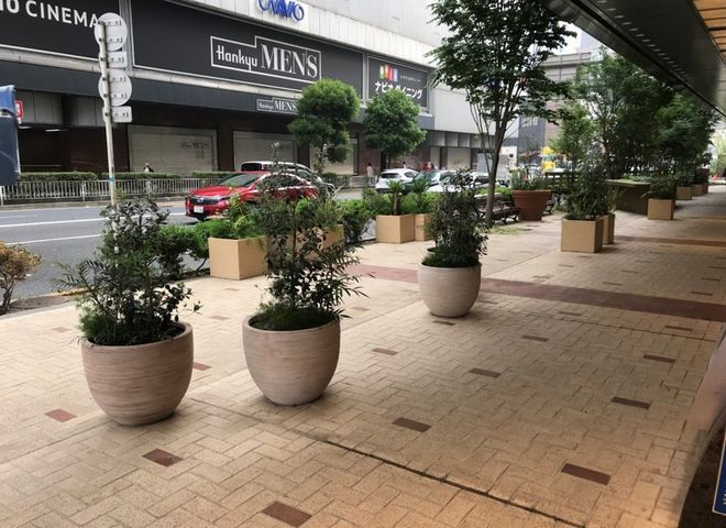 OSビル広場イベントスペース
