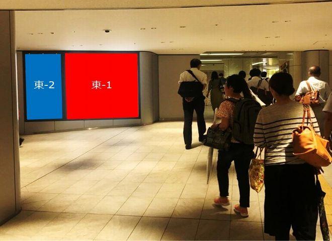 ディアモール大阪 3号線東端広場 東-1・東-2セット