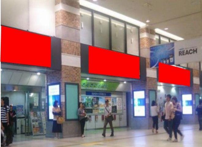 西鉄福岡(天神)駅 デジタルロングボード5(長期枠)