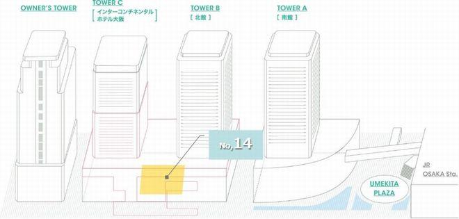 ナレッジプラザ柱巻き_配置図