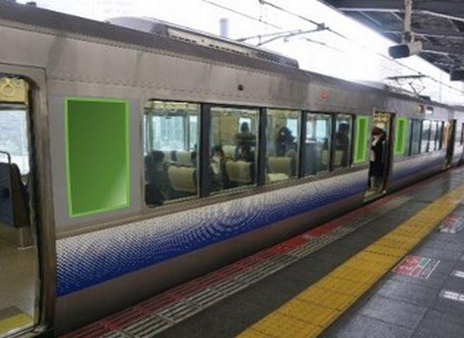 JR 車体広告_京阪神阪和線