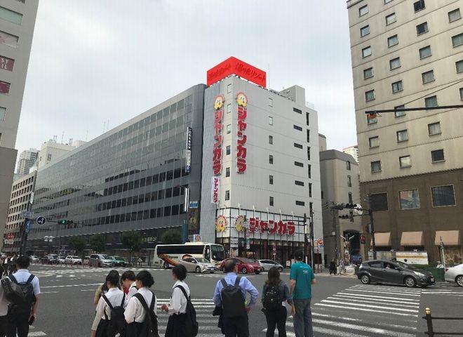 ジャンカラ梅田芝田町店 屋上広告